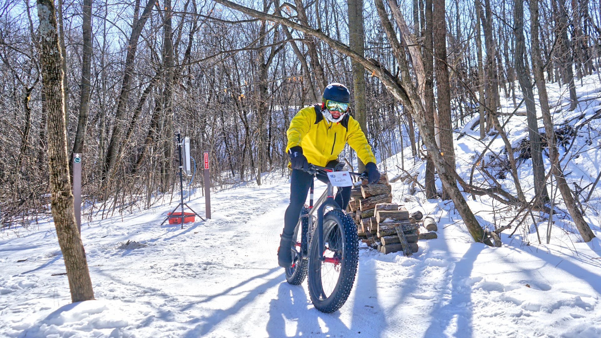 Big Tires, Big Adventure on 13 Miles of Trails at Elm Creek Park Reserve