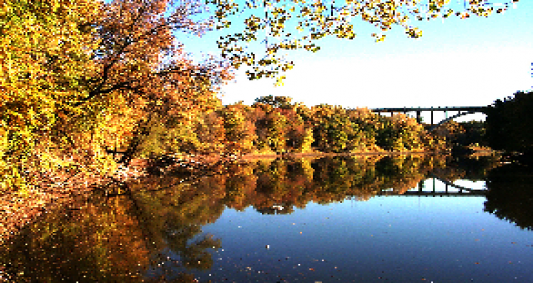 Mississippi River during Fall