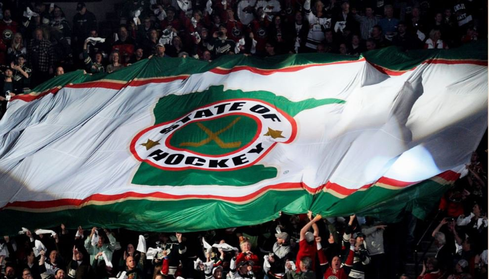 State of hockey flag