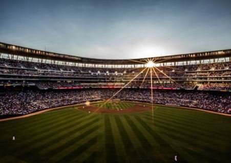 Fall baseball at Target Field