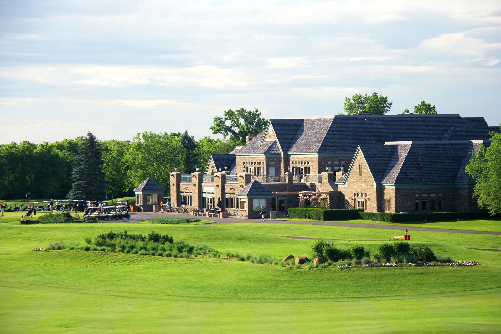 Clubhouse at Edinburgh USA