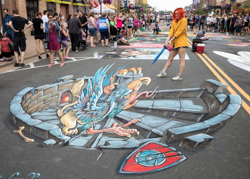 Chalk Festival Minneapolis