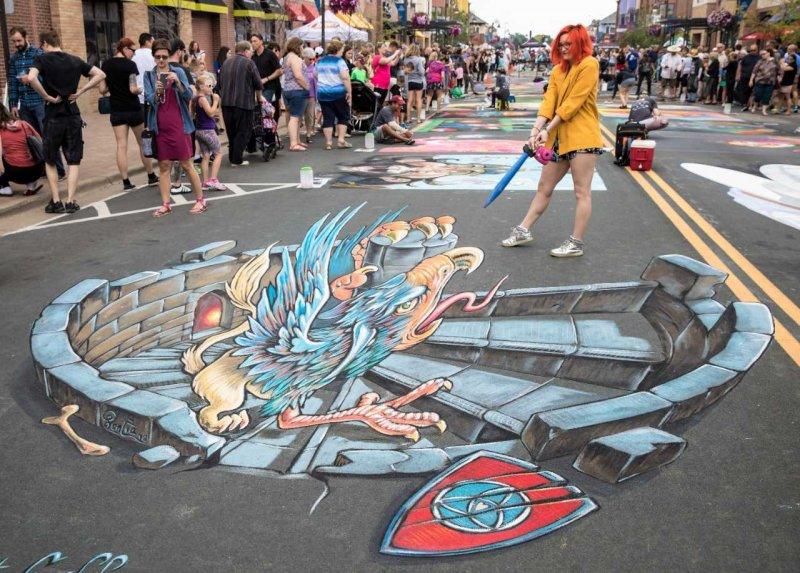 Chalk Festival Minneapolis