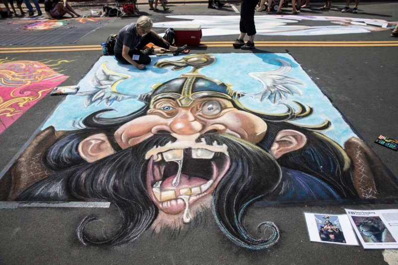 Chalkfest Pirate
