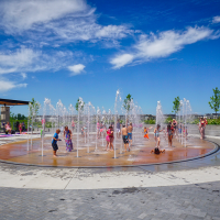 Central Park Splash Pad