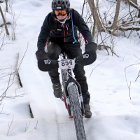 Fat biking at Elm Creek Park Reserve