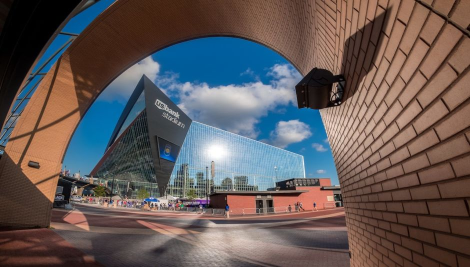 View of US Bank Stadium