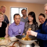 Lemon grass thai private cooking class w:people-2