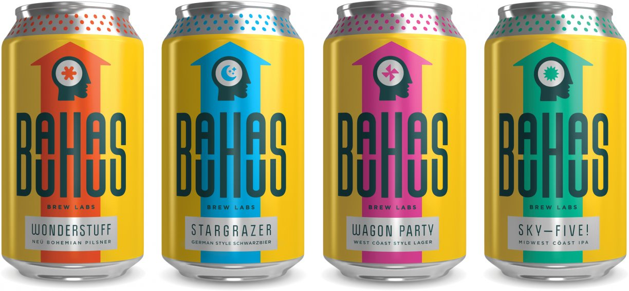 Flagship beers at Bauhaus Brew Labs