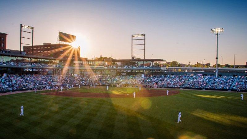 Baseball field in Saint Paul, Minnesota