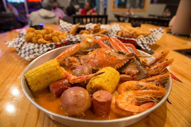 Crazy Cajun in Brooklyn Park serves the most authentic Cajun cuisine north of Louisiana. Choose from a varied menu of seafood boils - king crab, snow crab, crawfish - mussels, gumbo, catfish, gator, frog legs and more.