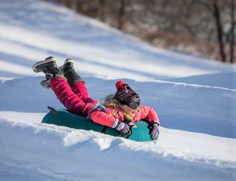Elm Creek Park Tubing Hill