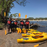 Mississippi River Paddle Share