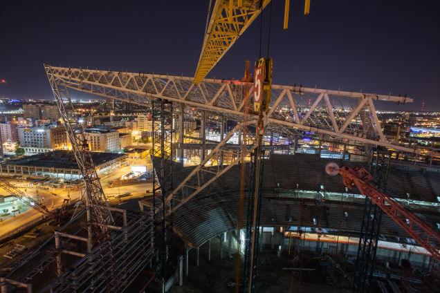 Vikings Stadium Construction