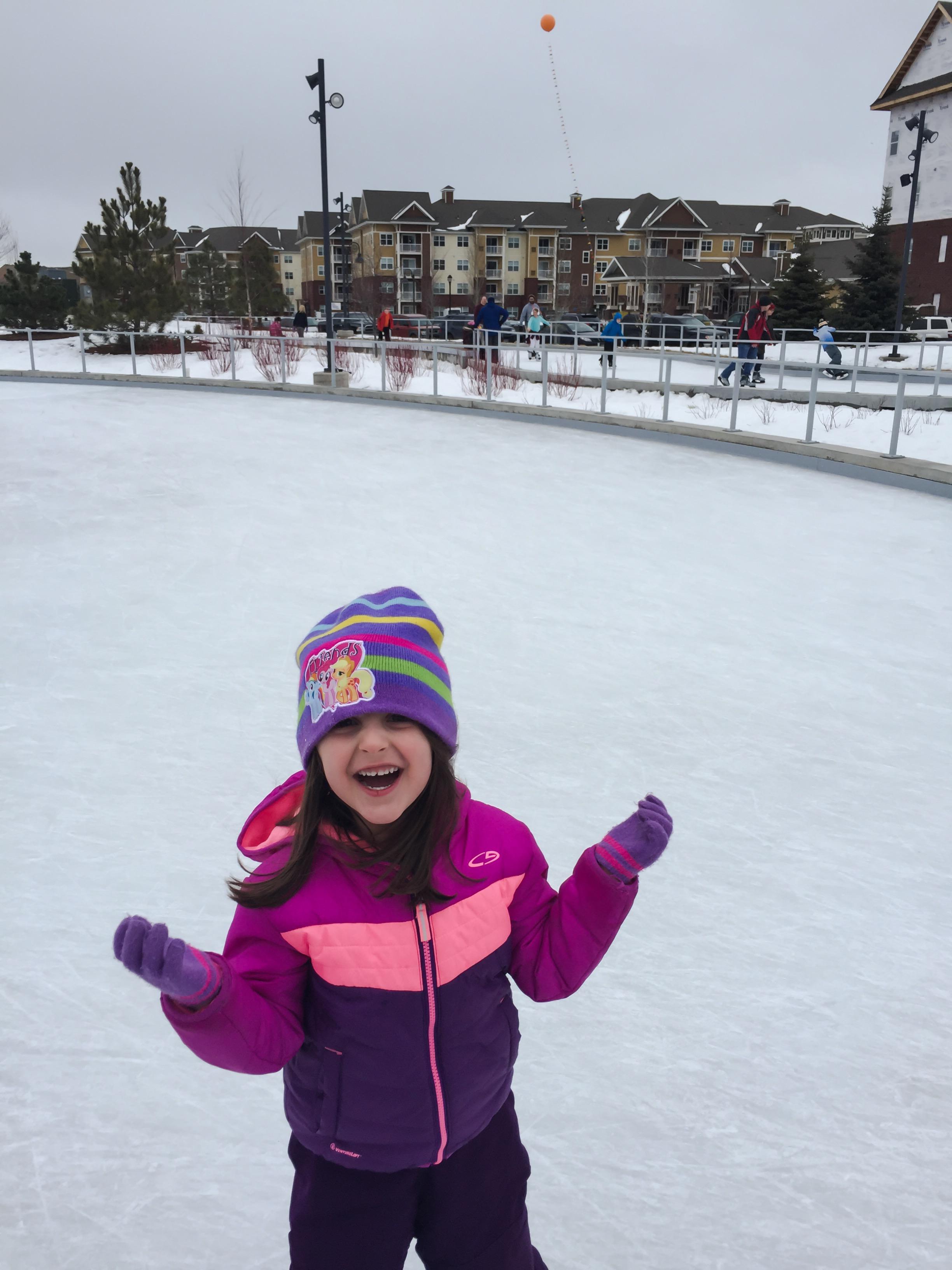 E Ice Skating Loop
