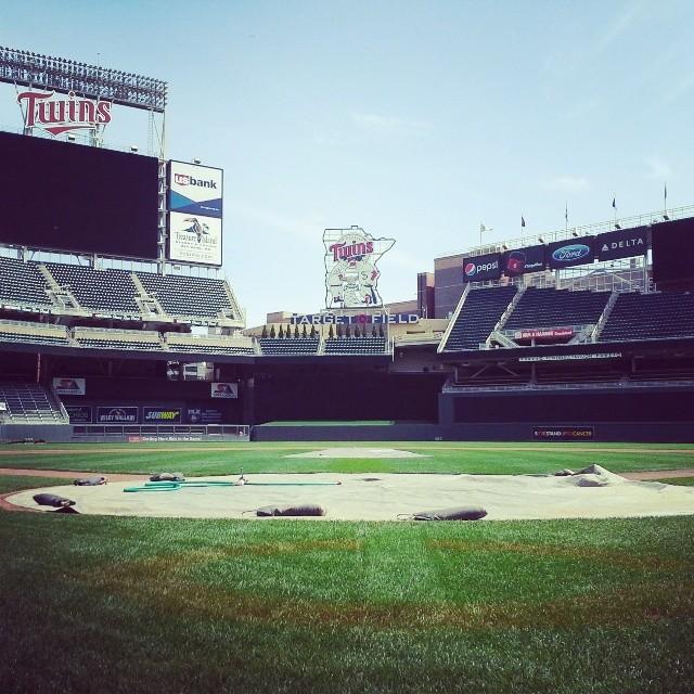 Target Field Behind Home Plate | Minneapolis Northwest