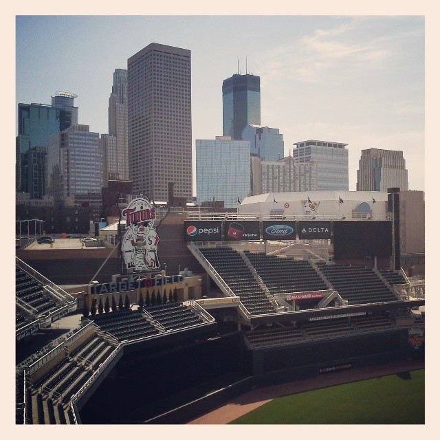 Target Field View From Roof Deck | Minneapolis Northwest