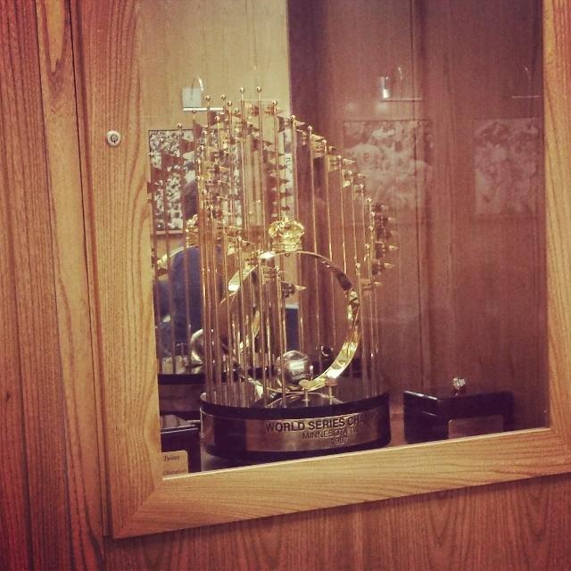 Target Field World Series Trophy | Minneapolis Northwest