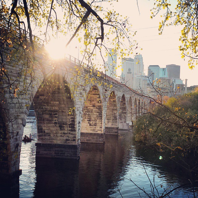 Instagram Worthy - Stone Arch Bridge 2