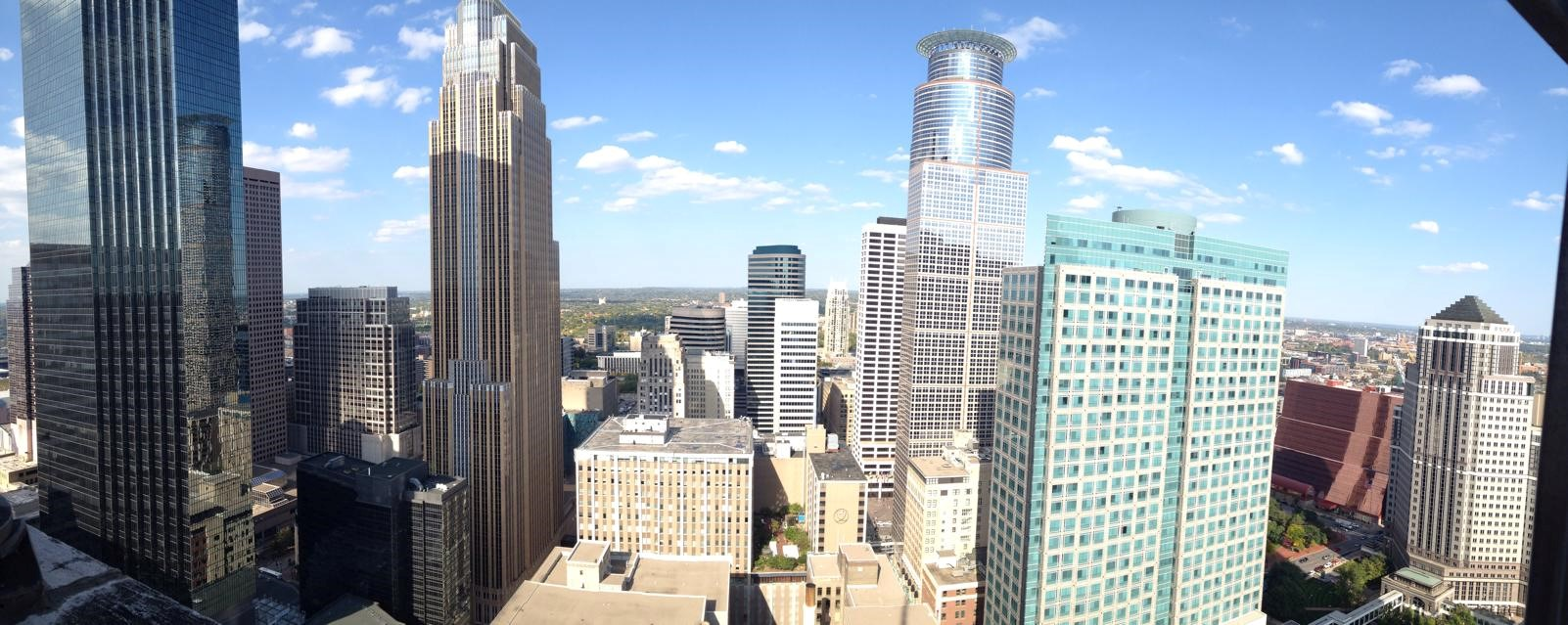Foshay Tower Observation Deck Minneapolis Panorama